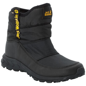 Jack Wolfskin Woodland Texapore WT Scarpe Bambino, black/burly yellow XT